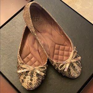 Vince Camino  Snake print flat shoes